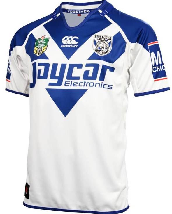 Canterbury Bankstown Bulldogs NRL Home Jersey 2014