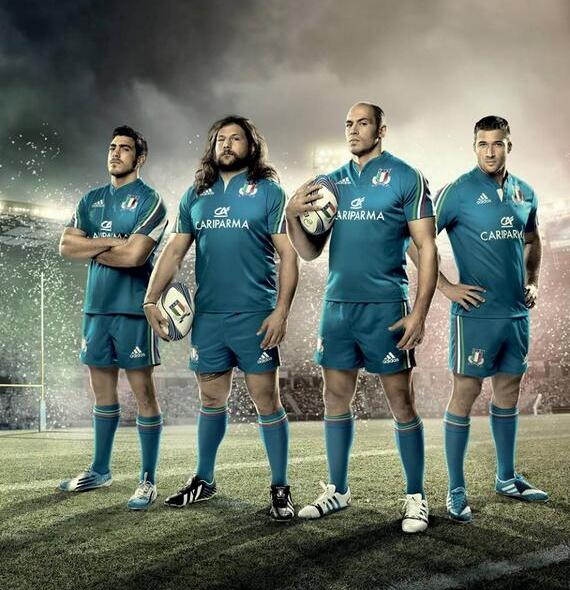 Italy 6 Nations 2014 Shirt