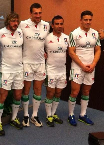 Italy Away Rugby Shirt 2014 Six Nations