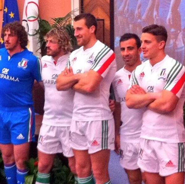 New Italy Away Rugby Jersey 2014