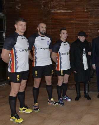 New Romania Rugby Shirt 2014