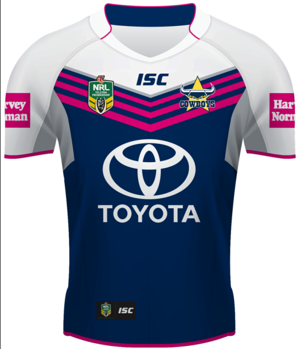 New North Queensland Kits 2014- ISC Cowboys RL WIL Home Away ... abc0c08ab