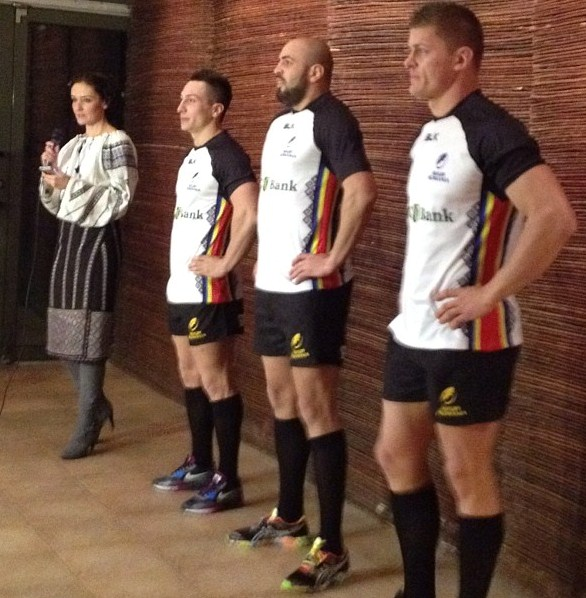 Romania Rugby Jersey 2014