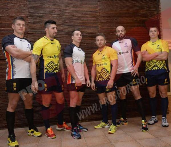 Romania Rugby Shirt 2014