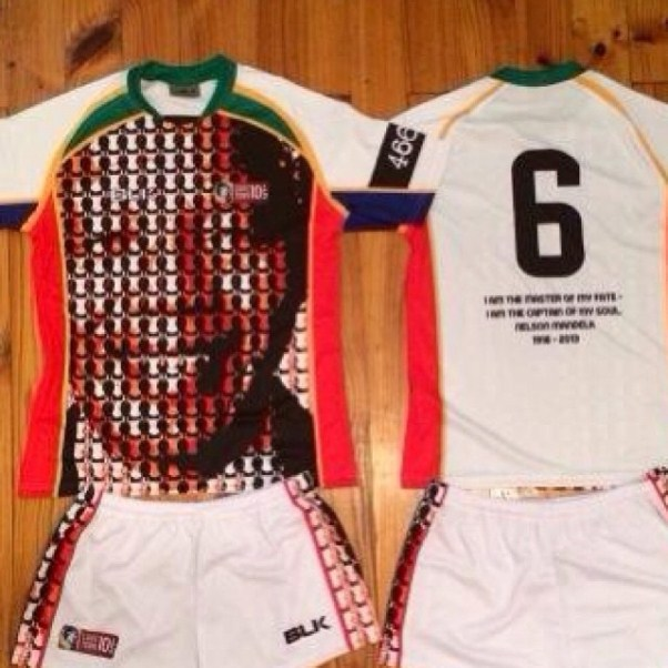 Mandela Rugby Shirt Cape Town Tens