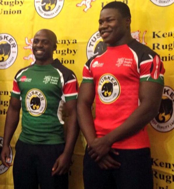 Samurai Sports Kenya Rugby Jersey 2014