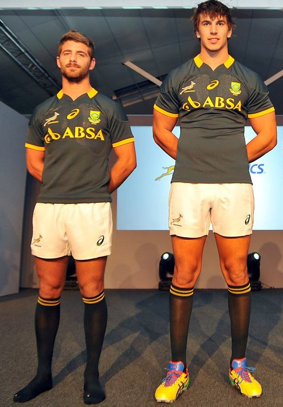 New South Africa Rugby Jersey 2014 2015