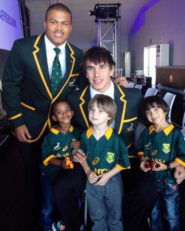 New Springbok Jersey 2014 Asics