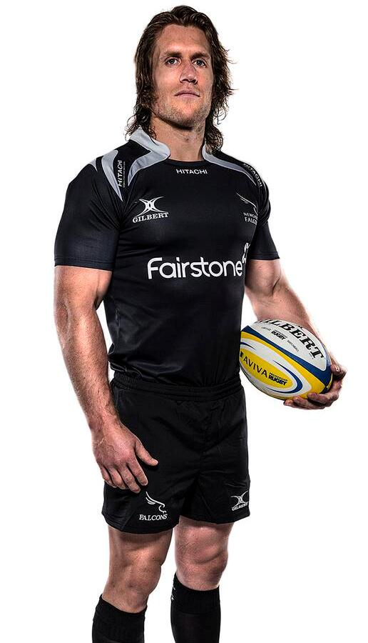New Newcastle Falcons Rugby Kit 2014 15