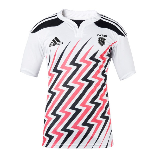 New Stade Francais Kit 2014 2015- Adidas SF Paris Rugby Jerseys 2014 ... 82d92d2fa