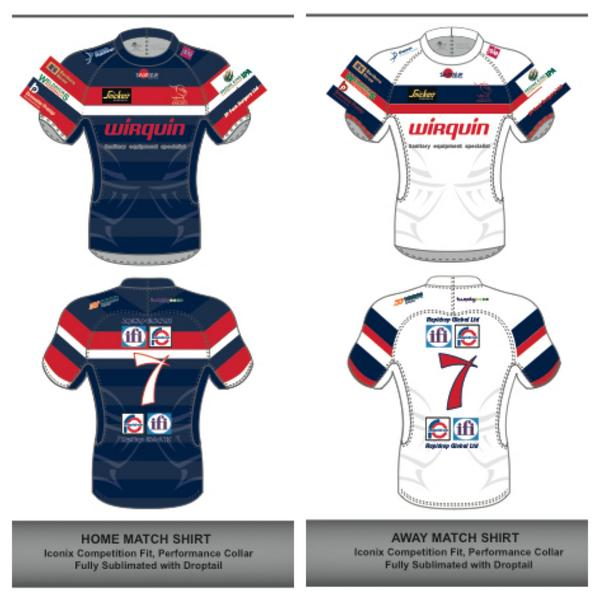 Doncaster Knights Kit 2014 Samurai
