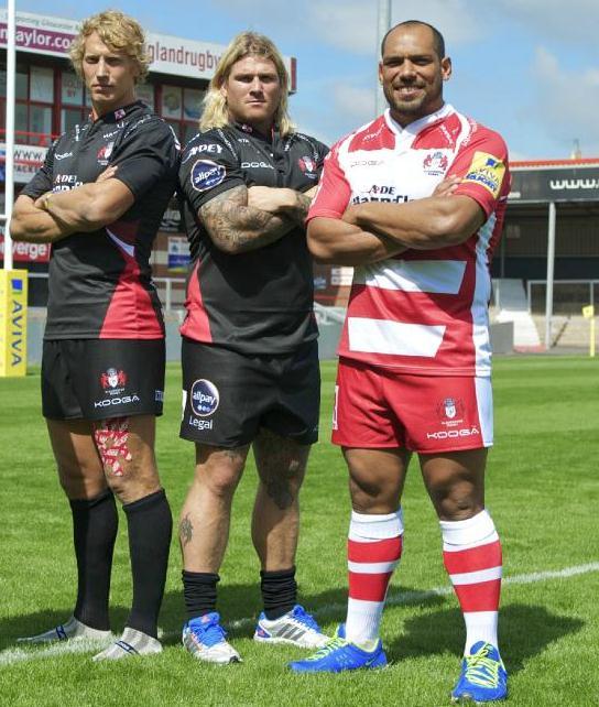 Leinster Rugby Season 2014 15 So Far: New Gloucester Rugby Away Kit 2014/15- Black Gloucester
