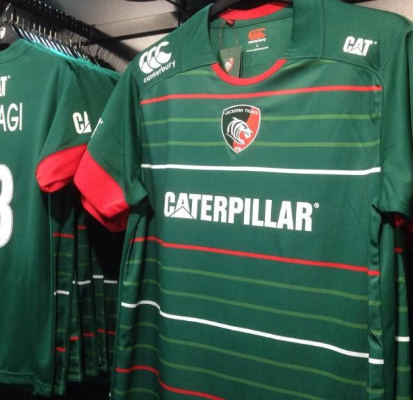 Leinster Rugby Season 2014 15 So Far: New Leicester Tigers Kit 2014/15- Canterbury Leicester