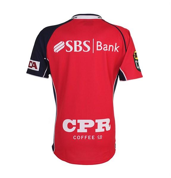 New Tasman Rugby Jersey 2014 BLK
