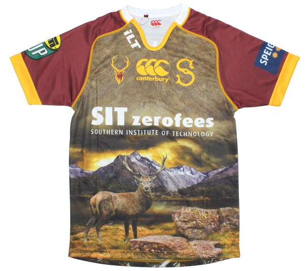 0e51b50d1ee New Southland Rugby Alternate Jersey 2014- Stags ITM Cup Away Kit ...