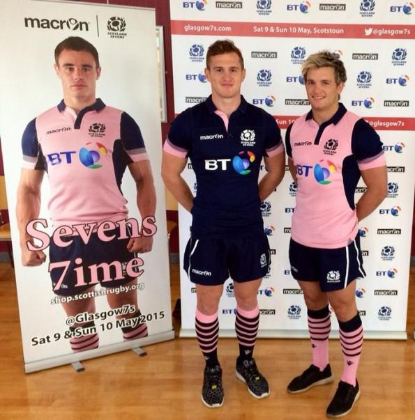 New Scotland Sevens Rugby Jersey 2015