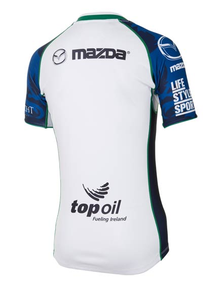 Connacht Rugby Away Jersey Back