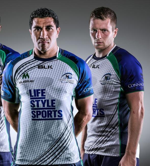 New Connacht Away Rugby Shirt 2014 2015