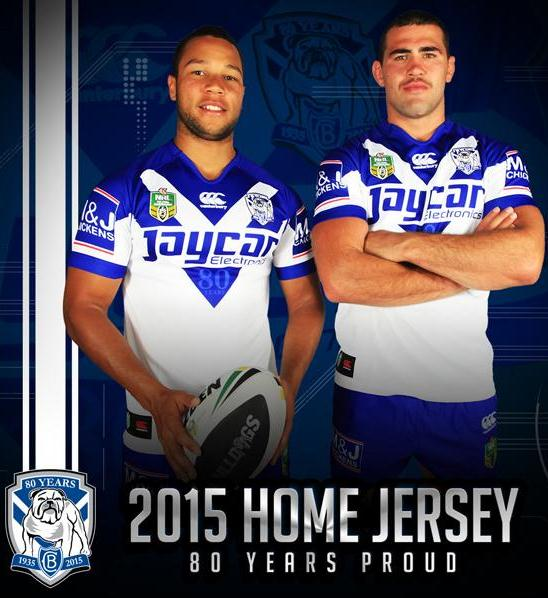 Bulldogs 80th Anniversary Jersey