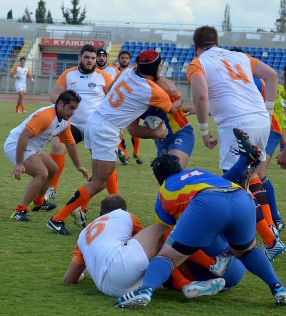 Cyprus Rugby Kit 2015 BLK