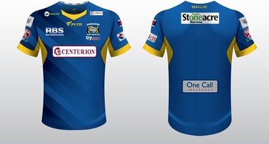 Doncaster RLFC FITA 2015 Kit