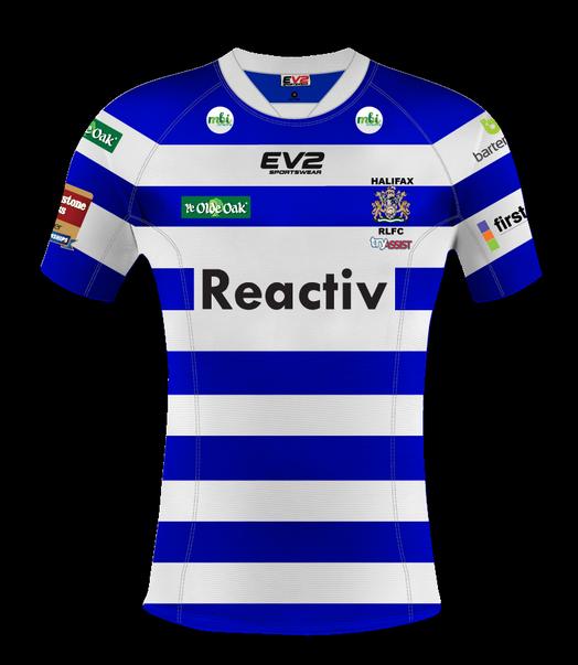 Ev2 Sportswear Halifax RLFC Kit 2015
