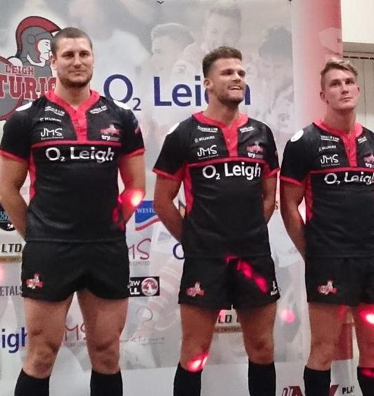 Leigh Centurions Away Shirt 2015