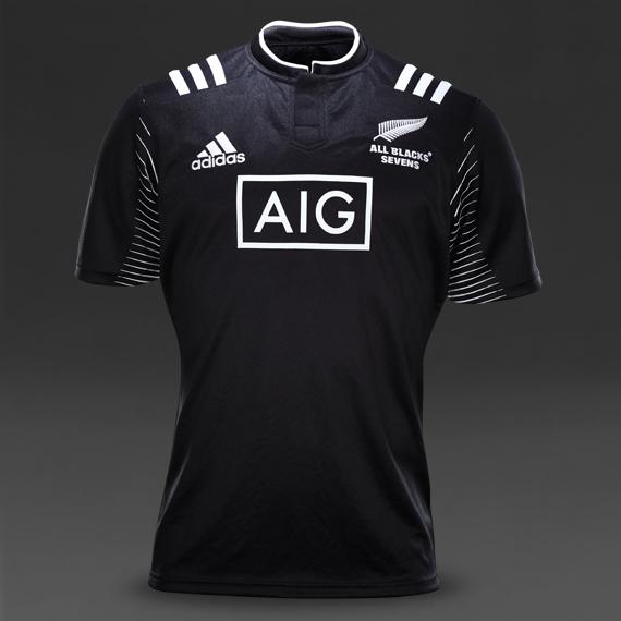 New NZ 7's Rugby Shirt 2015- Adidas New Zealand Sevens ...