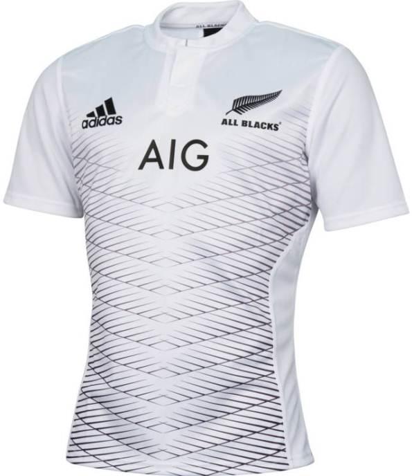 d277b175710 Adidas New All Blacks Away Kit 2015- White New Zealand Alternate ...