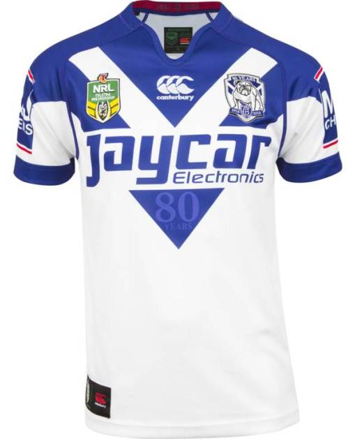 New Canterbury Bulldogs 2015 Jersey