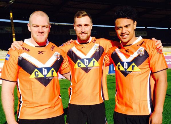 New Castleford Tigers Home Kit 2015