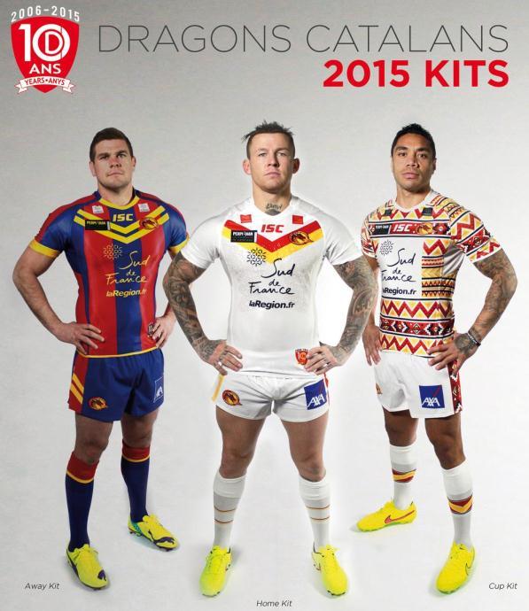 New Catalans Dragons 2015 Kit