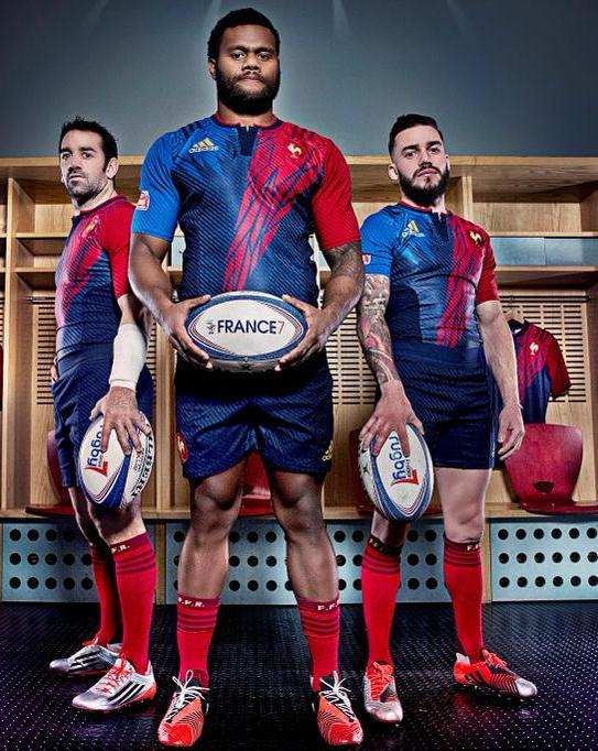 New France Sevens Kit 2015