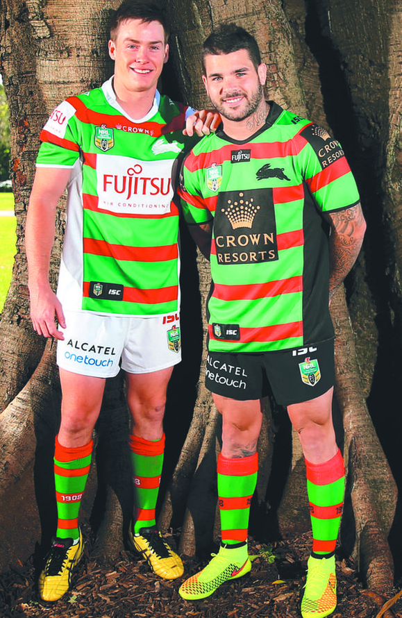 New South Sydney Rabbitohs Jersey 2015 Souths 2015 Kits Isc New Rugby Kits
