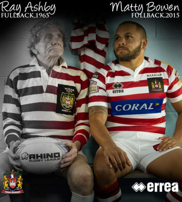 New Wigan Warriors 2015 Kit
