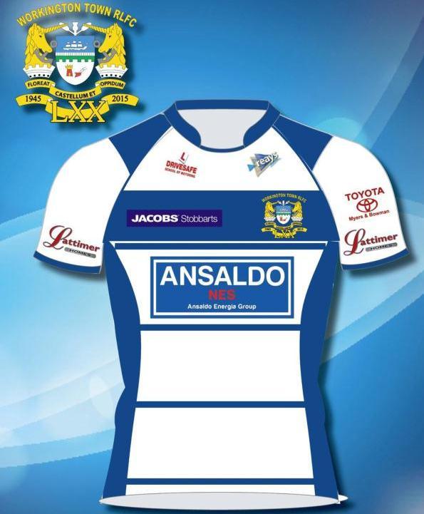 New Workington Town 2015 Shirt