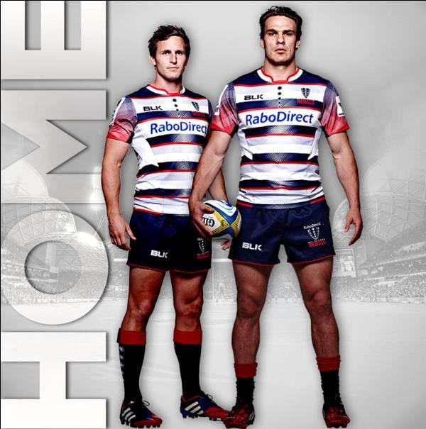Melbourne Rebels Super Rugby 2015 Jerseys- New Rebels BLK