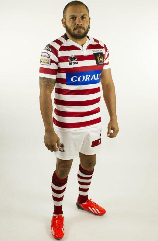 Wigan Warriors Errea Shirt 2015