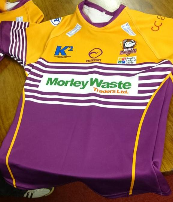 Batley Bulldogs Shirt 2015
