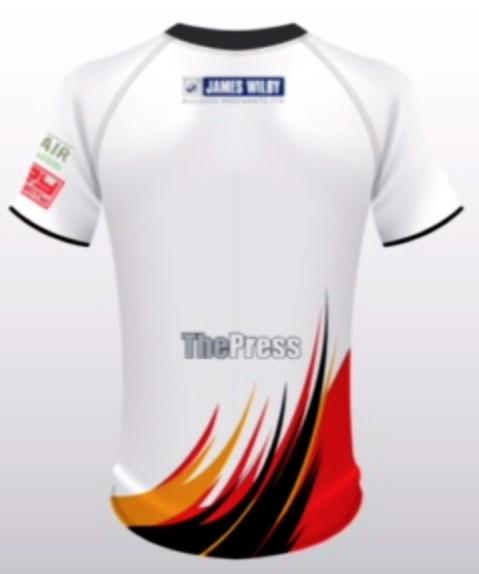 Dewsbury Home Shirt Back