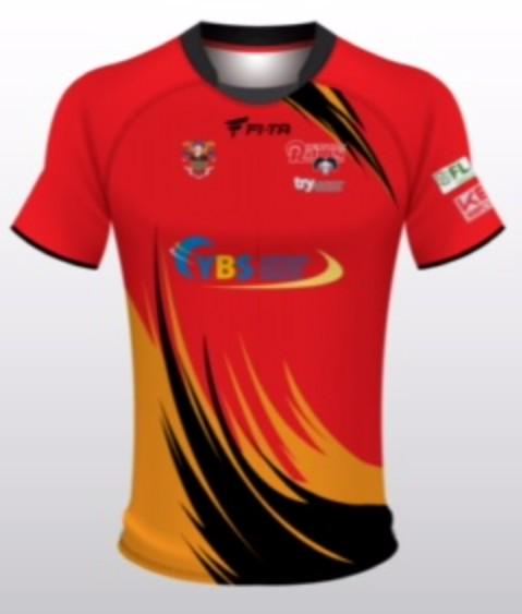 Dewsbury Rams Away Shirt 2015