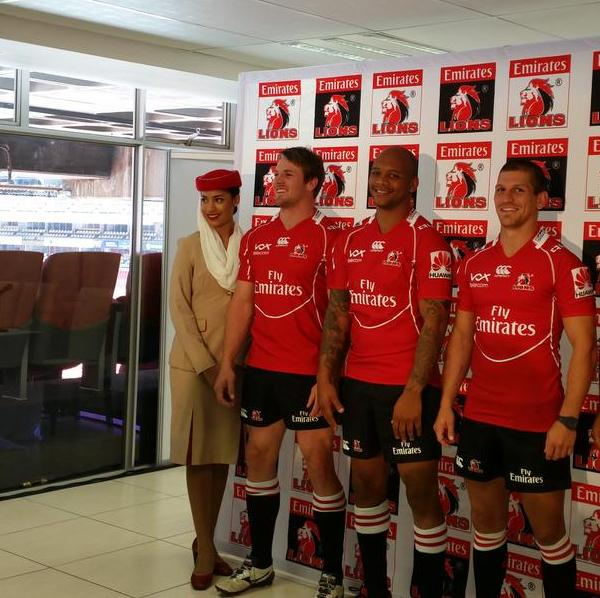 Emirates Lions 2015 Jersey