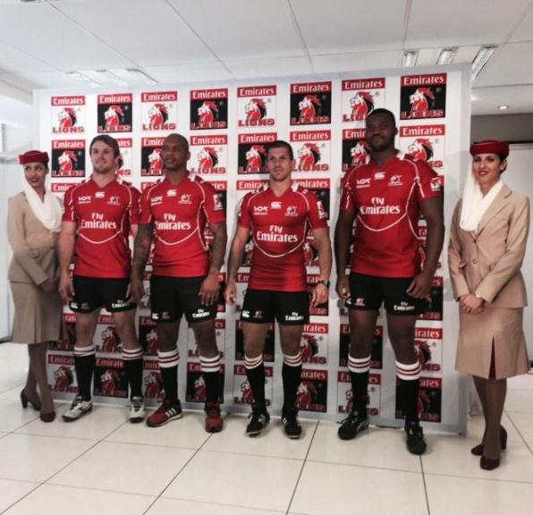 Golden Lions Jersey 2015