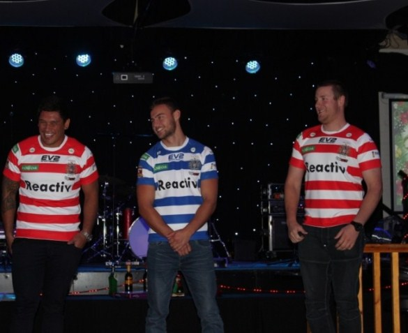 Halifax RLFC Away Shirt 2015