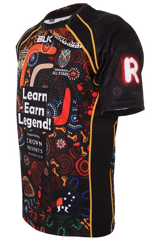 Indigenous NRL Rugby Shirt 2015