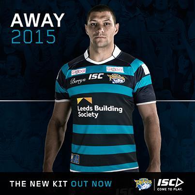 Leeds Rhinos Away Shirt 2015