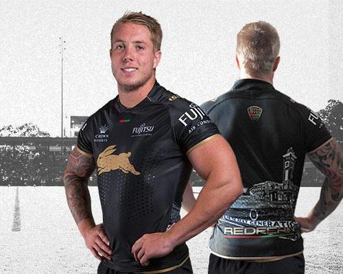 South Sydney Rabbitohs Redfern Jersey 2015 New Souths Black Rtr Kit 2015 New Rugby Kits