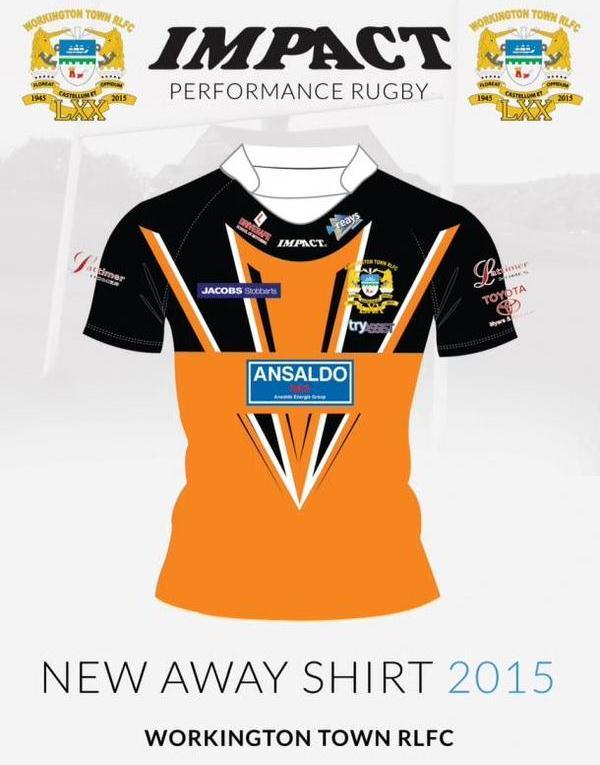 Workington Town Away Shirt 2015