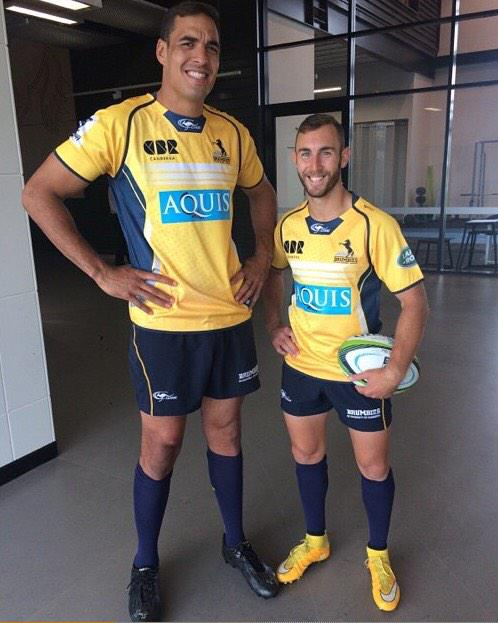 New Brumbies Away Jersey 2015
