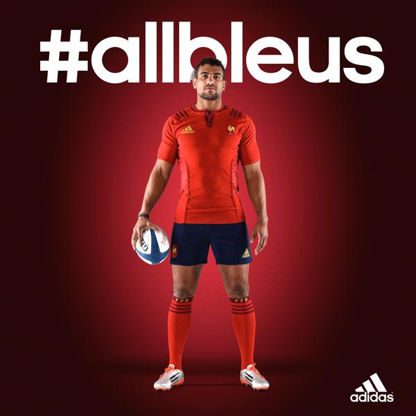 New France Away Rugby Kit 2015